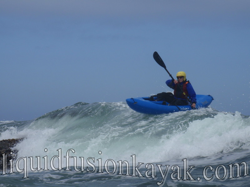 Whitewater ocean kayaking mendocino