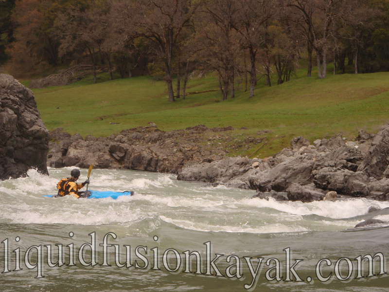 Hearst Whitewater Run on Eel River