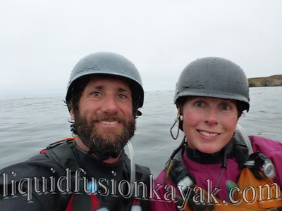 Jeff Laxier and Cate Hawthorne of Liquid Fusion Kayaking