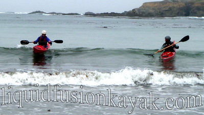 sea kayak instruction