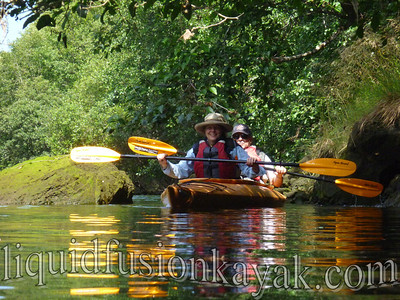 Kayaking Fort Bragg's Noyo River