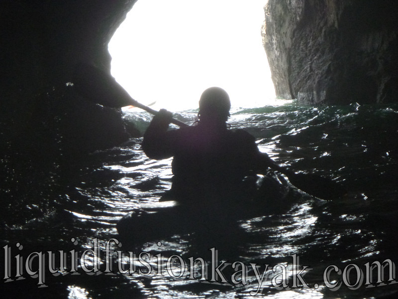 mendocino, kayak, sea cave, tour