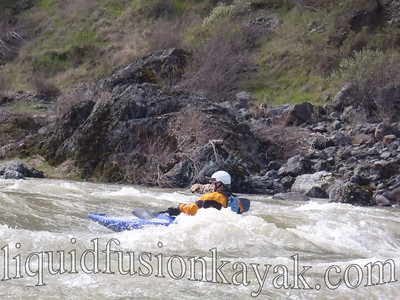 Mendocino Eel River Whitewater Kayaking