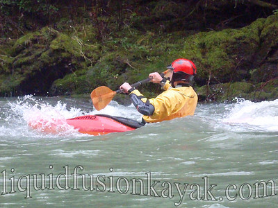 Whitewater kayaking in Mendocino on Rancheria Creek