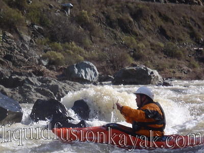 mendocino whitewater river kayaking