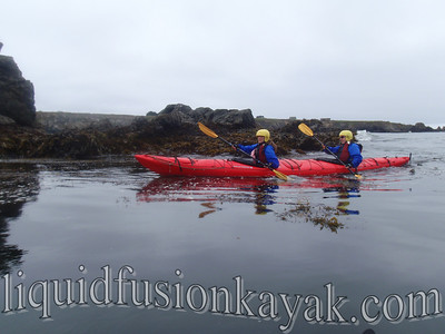Sea kayaking Mendocino Coast